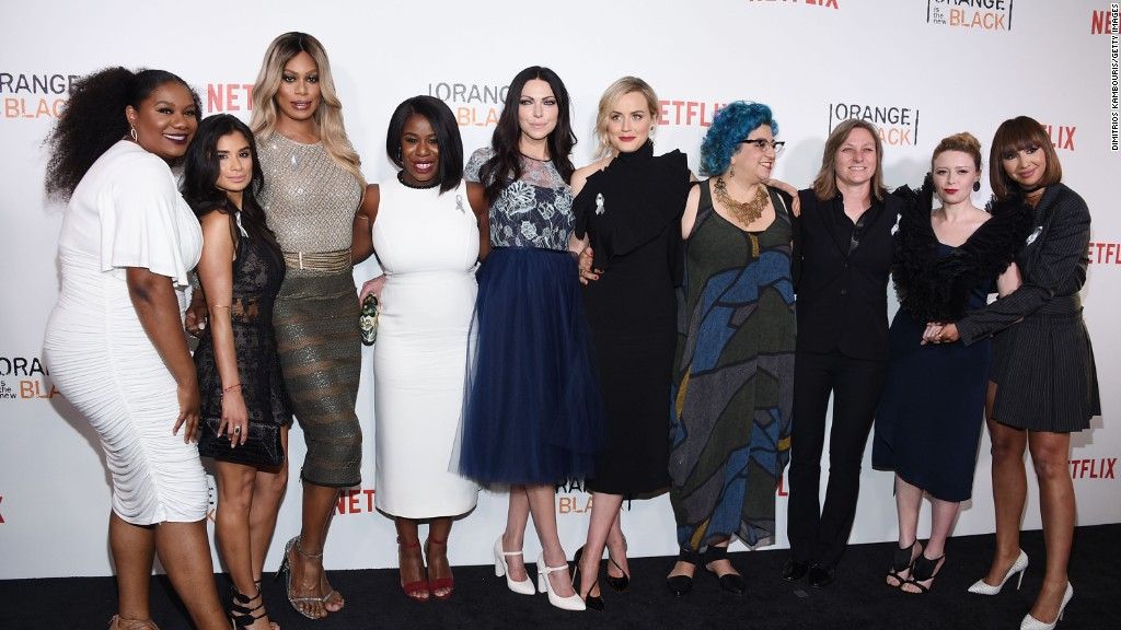 'Orange is the New Black' stars show support for LGBT community