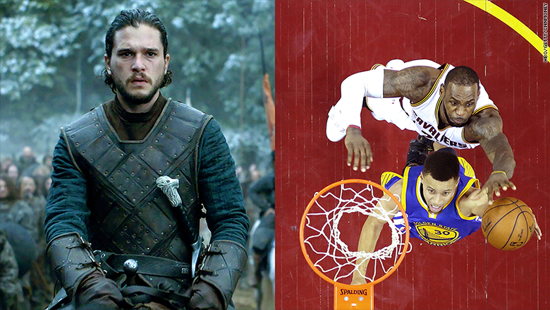 thrones nba finals