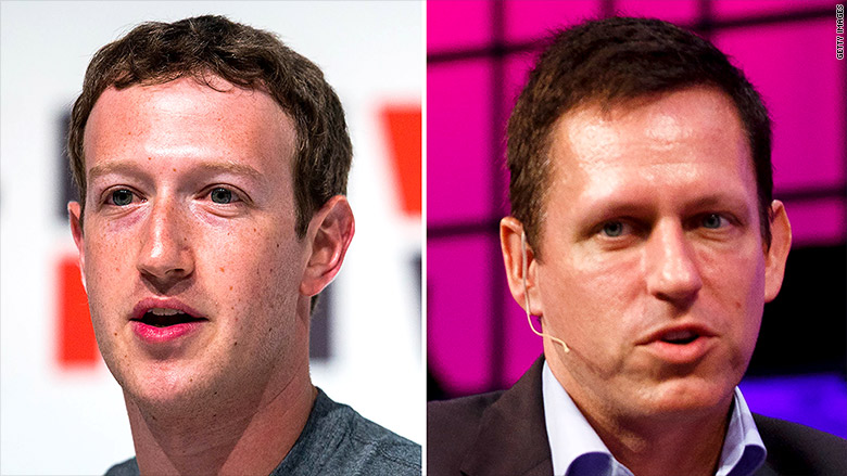 mark zuckerberg peter thiel