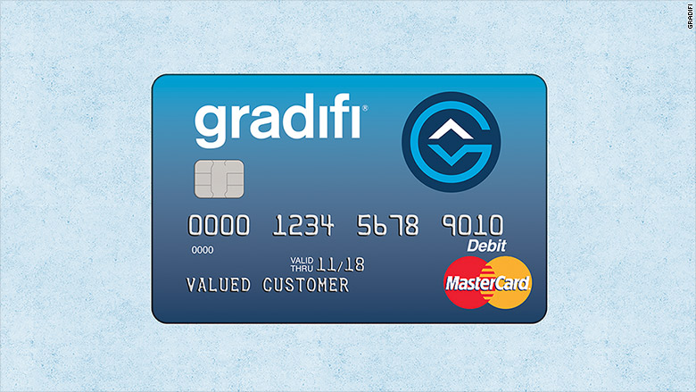 gradifi debit card
