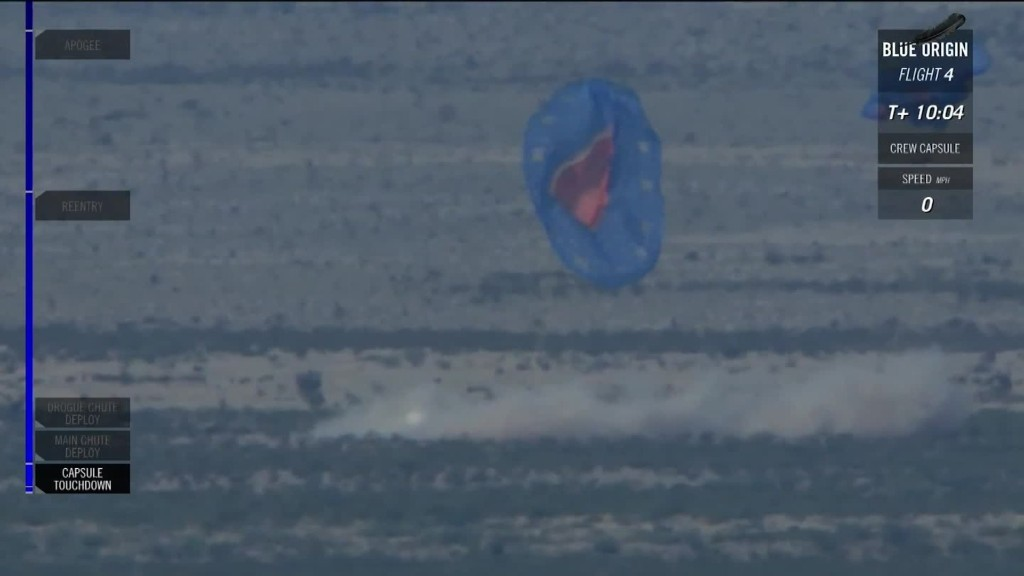 Watch Blue Origin test crash a pod in the desert
