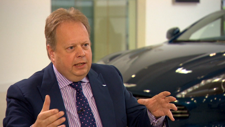 Innovate Auto Finance >> Aston Martin CEO: Brexit likely to hinder growth - Video ...