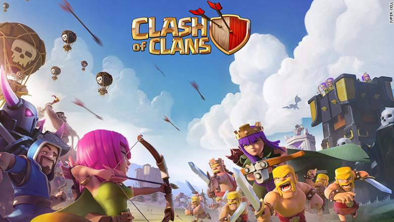 Clash clans super cell