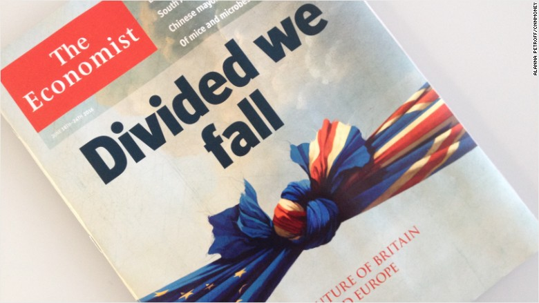 the economist brexit cover
