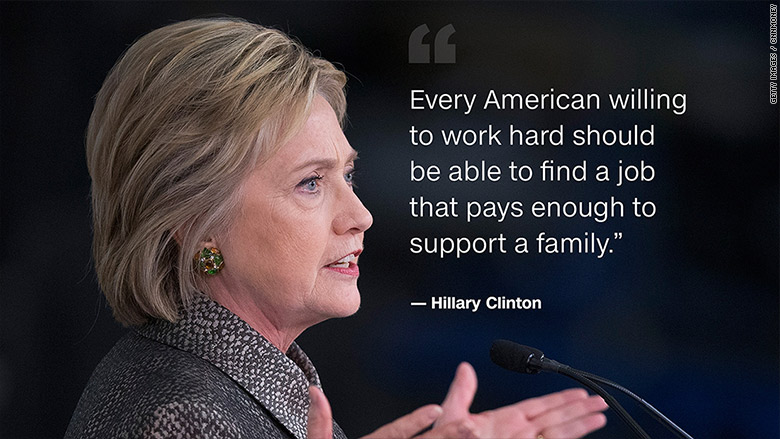 hillary clinton american jobs quote