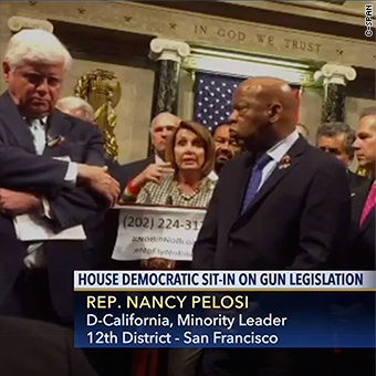graphic about C Span Printable Tv Schedule identified as C-SPAN moves into highlight with Democrats protest: This