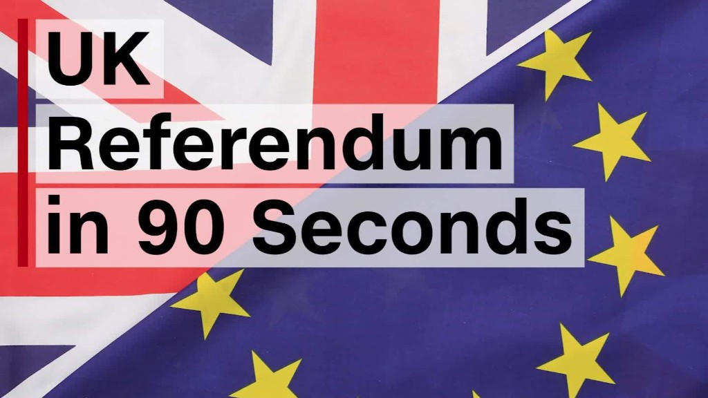 UK Referendum in 90 Seconds