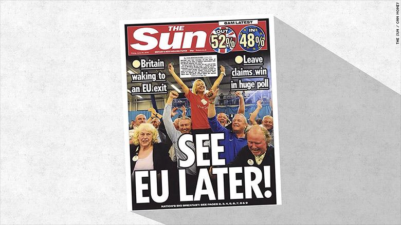 sun cover brexit
