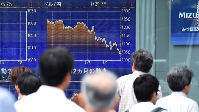 Asia panics as Britain decides to divorce the EU