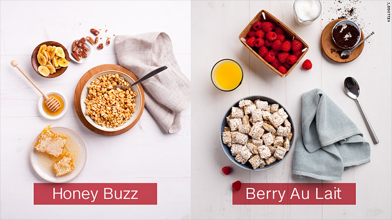 kelloggs cereal bar honey buzz berry au lait