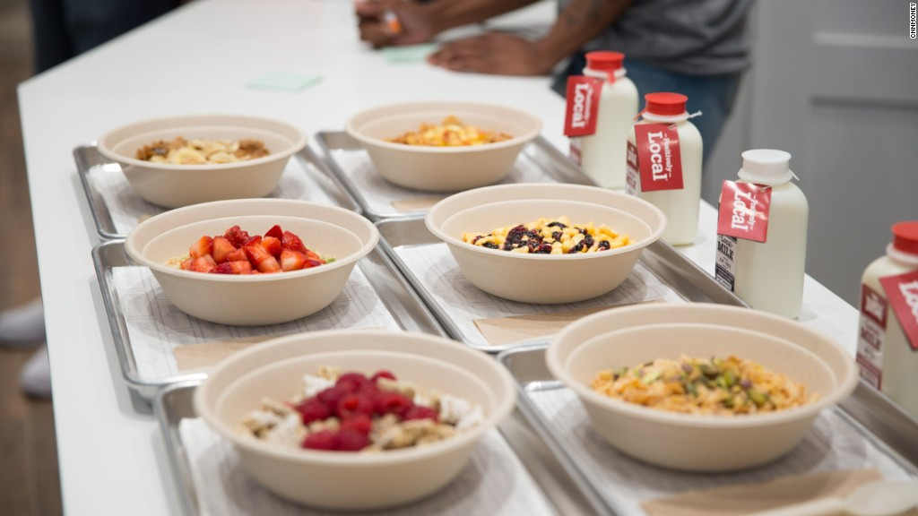 Why Kellogg's opened a cereal restaurant in NYC