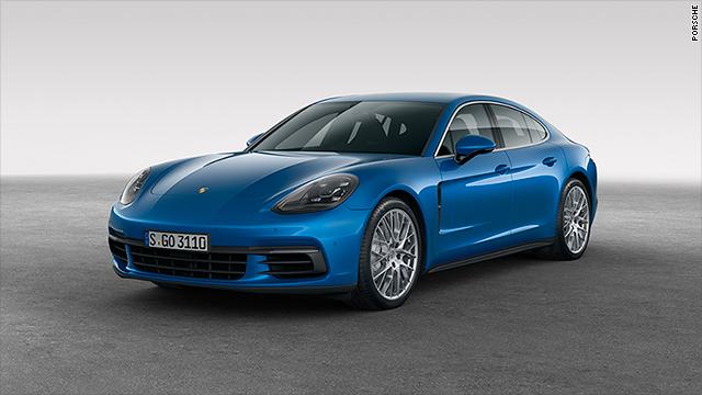 Porsche unveils better, faster four,door hatchback