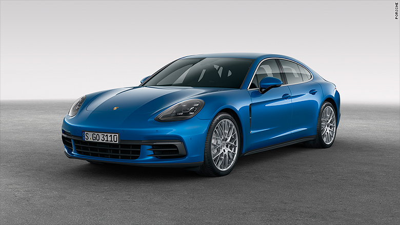 Porsche unveils better, faster four-door hatchback