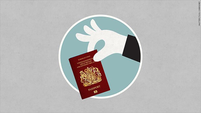brexit UK passport loses luster
