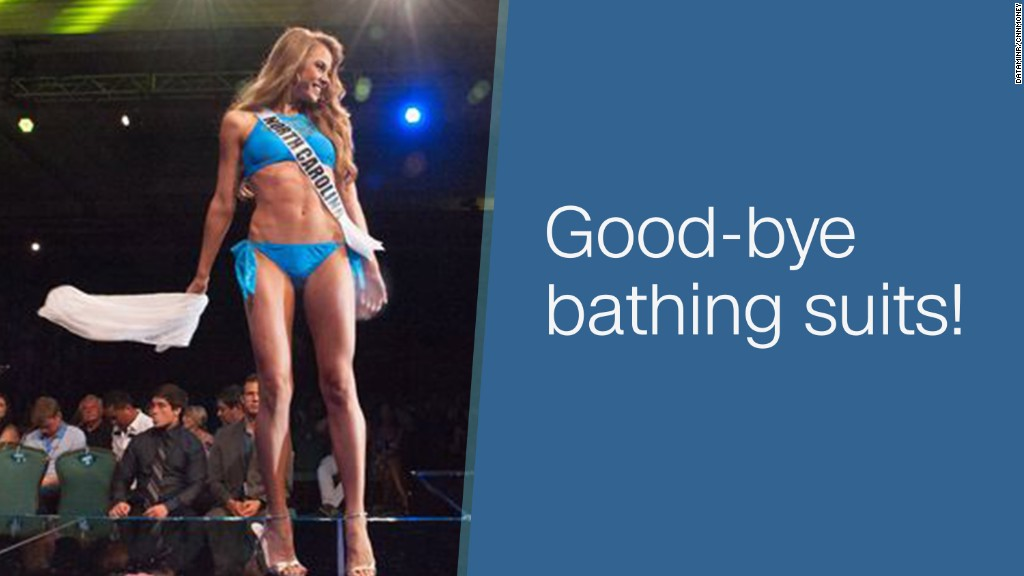 Miss Teen USA ditches swimsuits