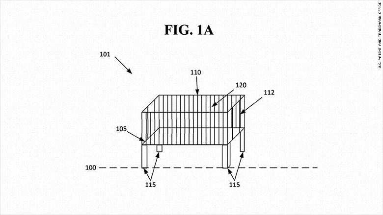 google crib patent
