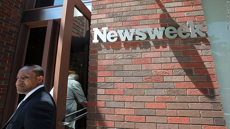 newsweek layoffs