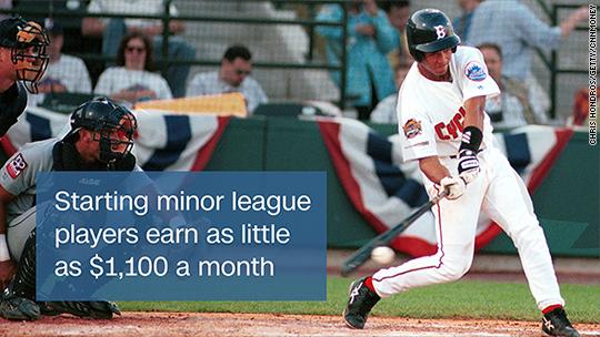 battle to keep minor league baseball players pay below minimum wage