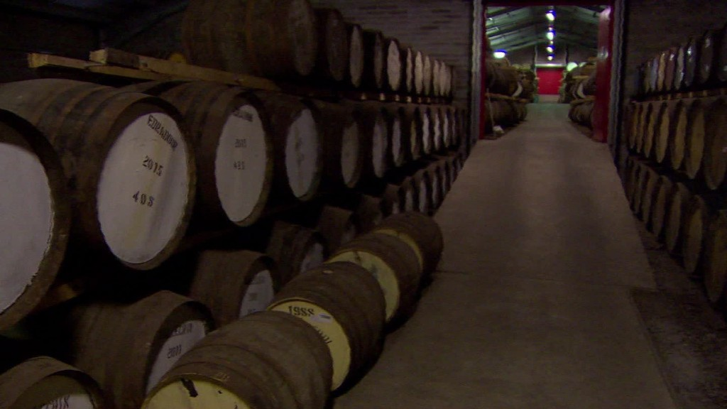Scotch whisky maker's concerns about Brexit