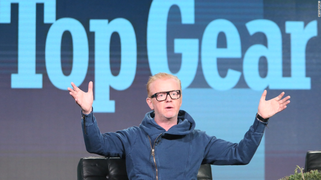 Top Gear's Chris Evans quits