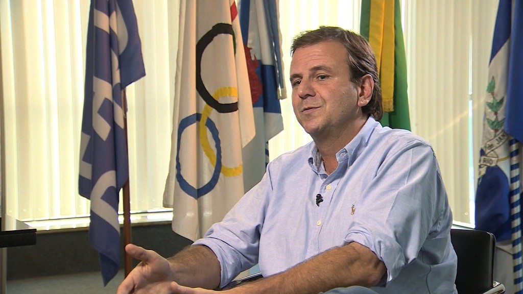Rio's mayor talks about Olympics concerns