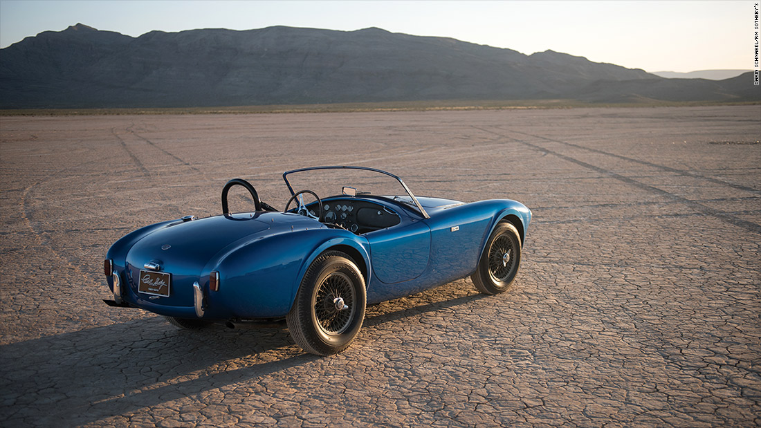 Legacy of speed - Shelby Cobra: Most valuable American car up for ...