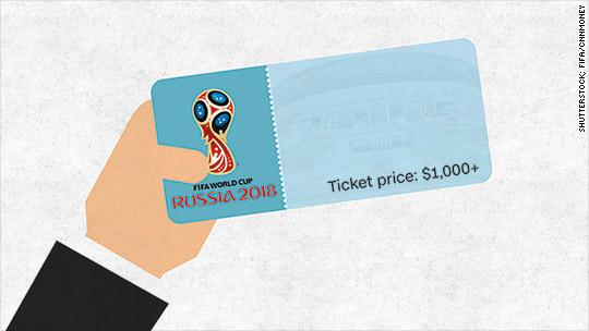 2018 world cup tickets surpass 1000 mark reheart Gallery