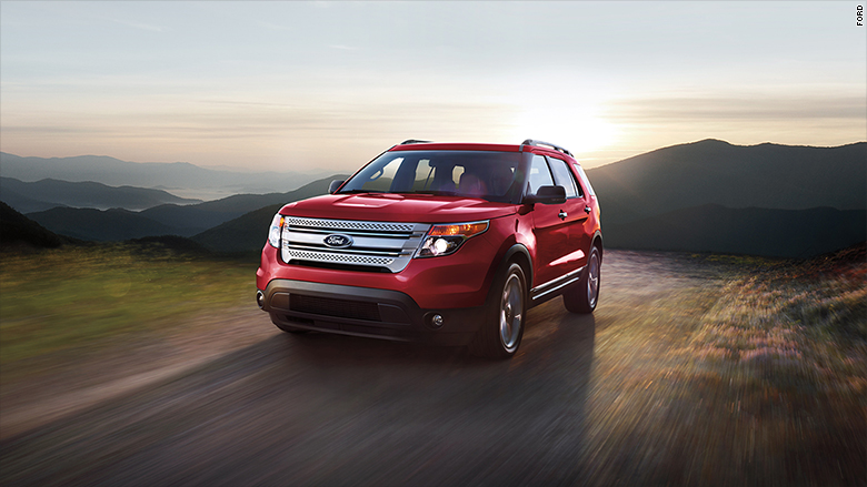 Ford Explorer Carbon Monoxide Recall >> Ford Explorer under investigation for exhaust fume leaks