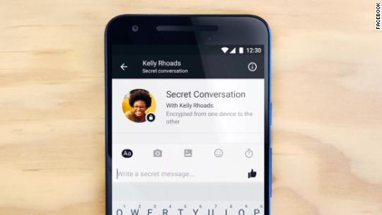 Facebook's 'Secret Conversations' mode deletes messages for