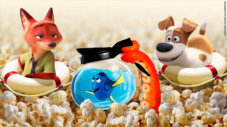 animated feature saviors