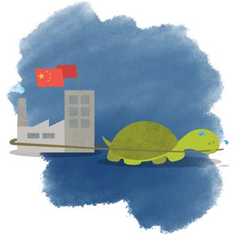 china slow economy