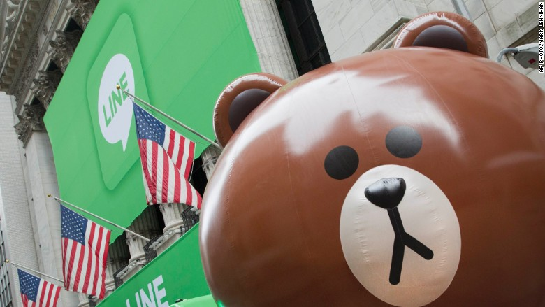Messaging App Line Soars In Largest Tech Ipo Of The Year