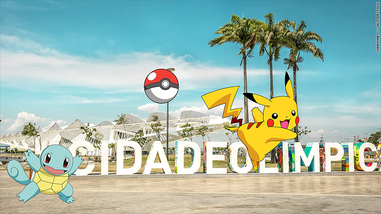 pokemon go olympics rio 1