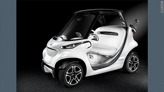 Mercedes unveils posh luxury golf cart on