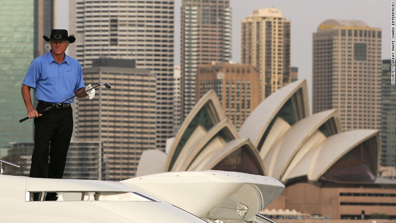 greg norman sydney opera house