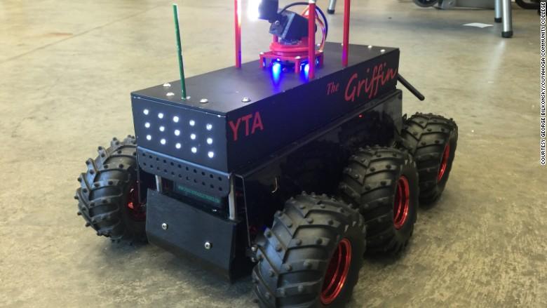 Close up RNC robot