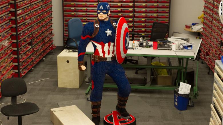 LEGO Captain America 1