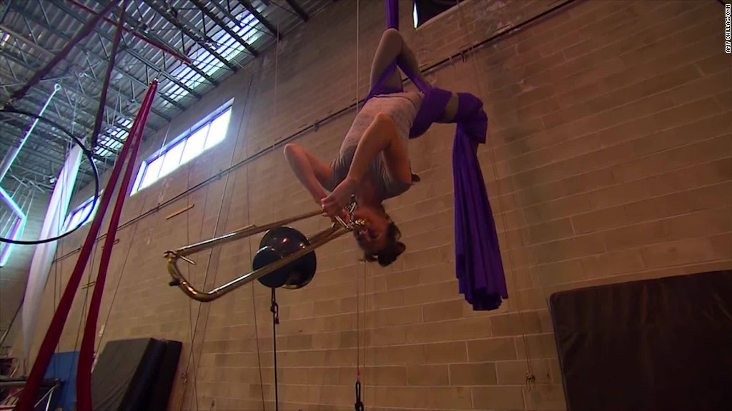 Circus artists say demand is on the upswing