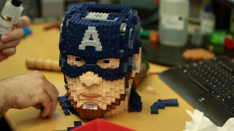 This Lego Master Builder Brought Captain America To Life