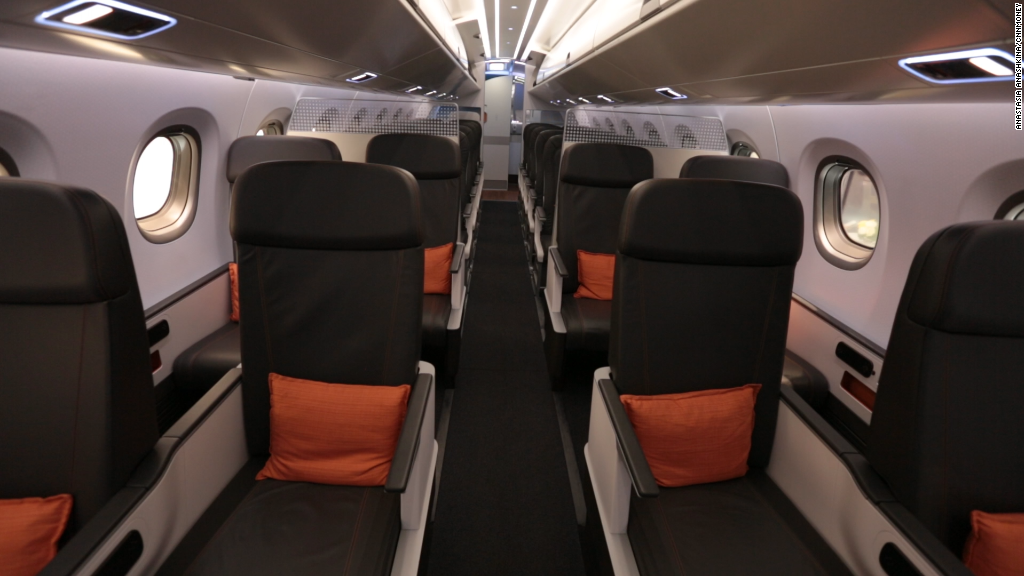 Cars With 3 Rows Of Seats >> American Airlines is cutting more legroom in economy class