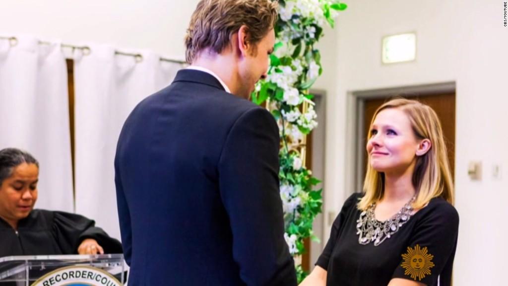 Kristen Bell shares glimpse of $142 wedding