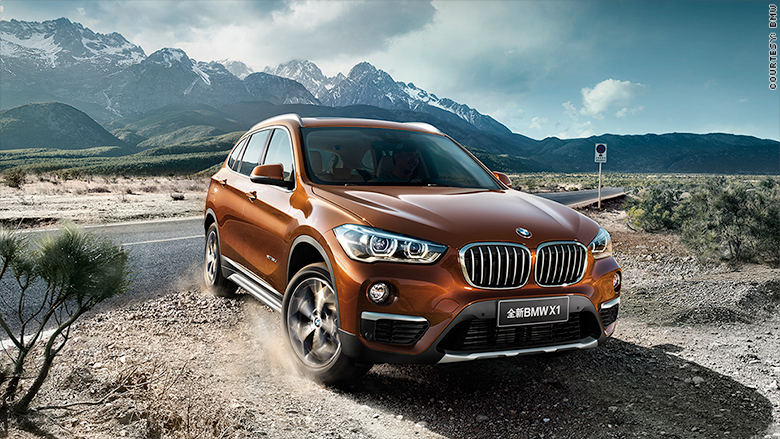 Best Small Premium SUV: BMW X1 - Best-loved new cars of 2016