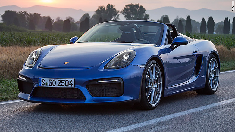 best compact premium sporty car porsche boxster best loved new cars of 2016 cnnmoney. Black Bedroom Furniture Sets. Home Design Ideas