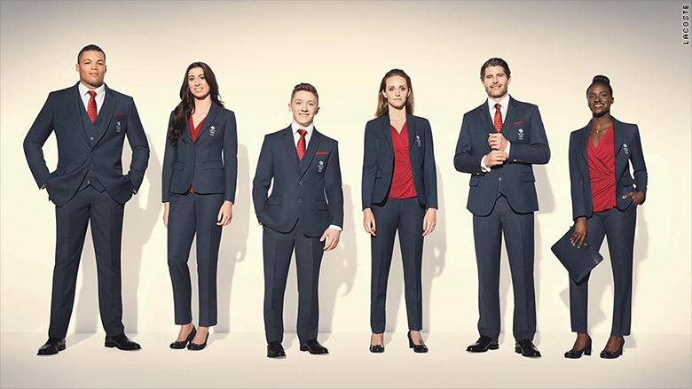 olympics uniforms fashion athletes great britain