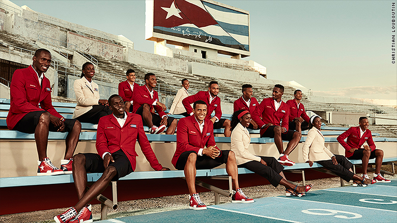 olympics uniforms fashion athletes cuba