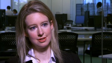 Theranos founder Elizabeth Holmes charged with massive fraud