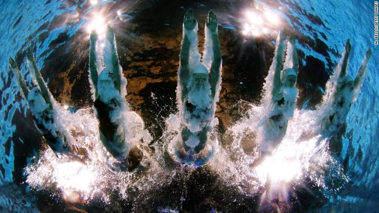 Underwater Olympics Robot Camera