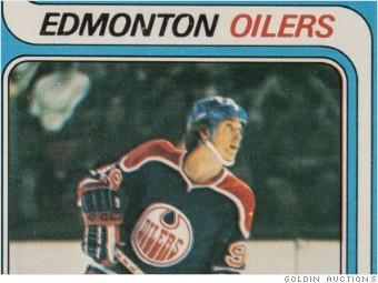 Wayne Gretzky Rookie Card Sells For Record 465000