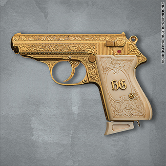 Golden gun once owned by Nazi leader Göring is up for auction