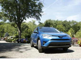 The Toyota Rav4 Hybrid S Front Wheels Are Driven By A Gasoline Engine But Back Ed Electricity